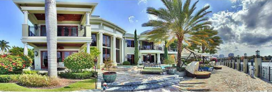 $6.25 Million Neoclassical Waterfront Mansion In Fort Lauderdale, FL