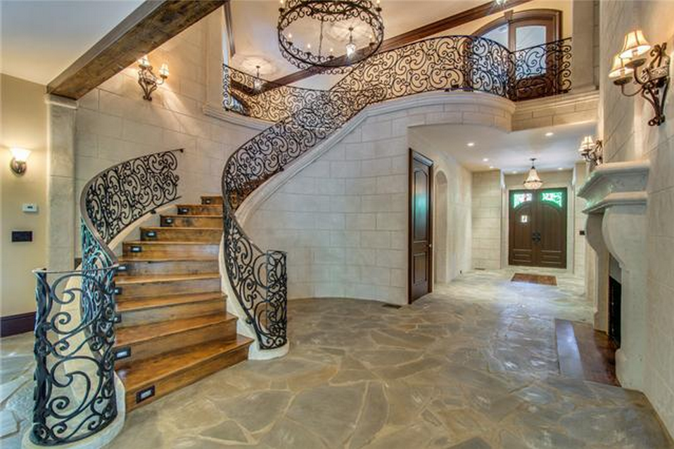 Beautiful Wood And Stone Staircases
