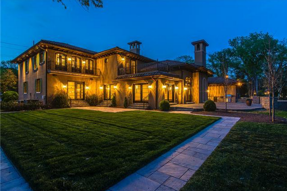 $3.995 Million Italian Inspired Mansion In Nashville, TN