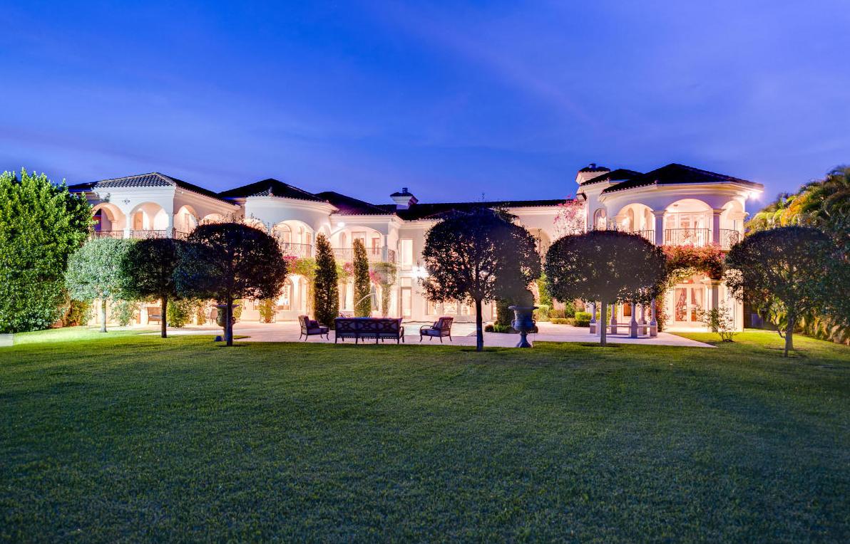 $5.9 Million Mediterranean Mansion In Boca Raton, FL
