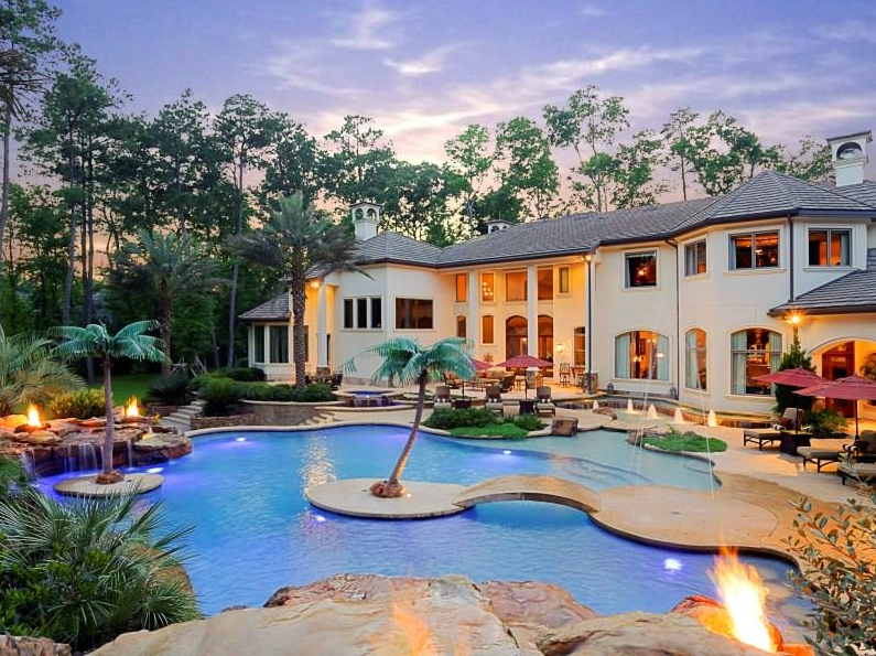 $5.9 Million 12,000 Square Foot Mansion In The Woodlands, TX