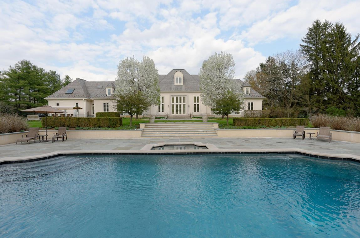 $6.475 Million French Style Mansion In Greenwich, CT
