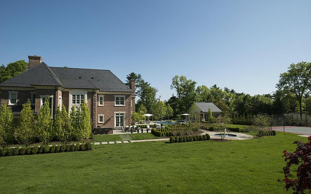 $17.25 Million Newly Listed Georgian Colonial Mansion In Greenwich, CT
