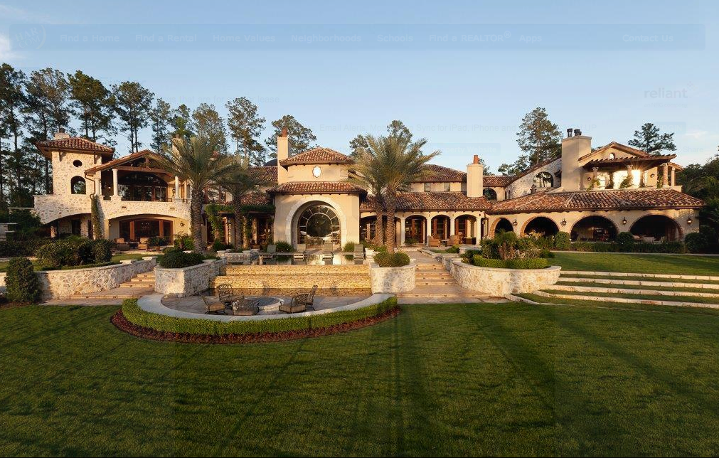 $14 Million 17,000 Square Foot Golf Course Mansion In The ...