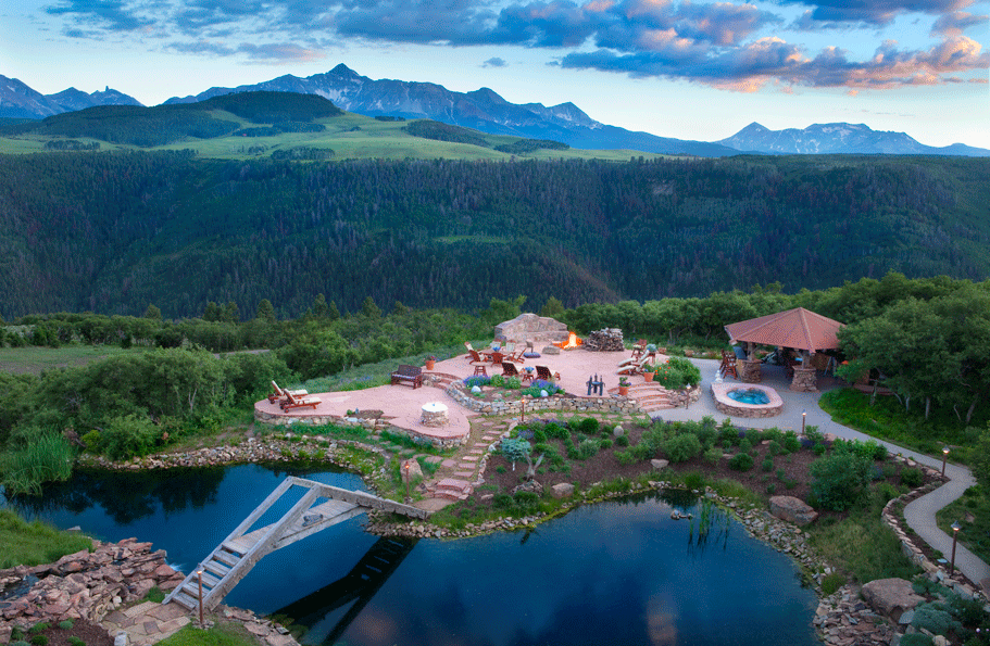 Catmando – A 35 Acre Estate In Telluride, CO