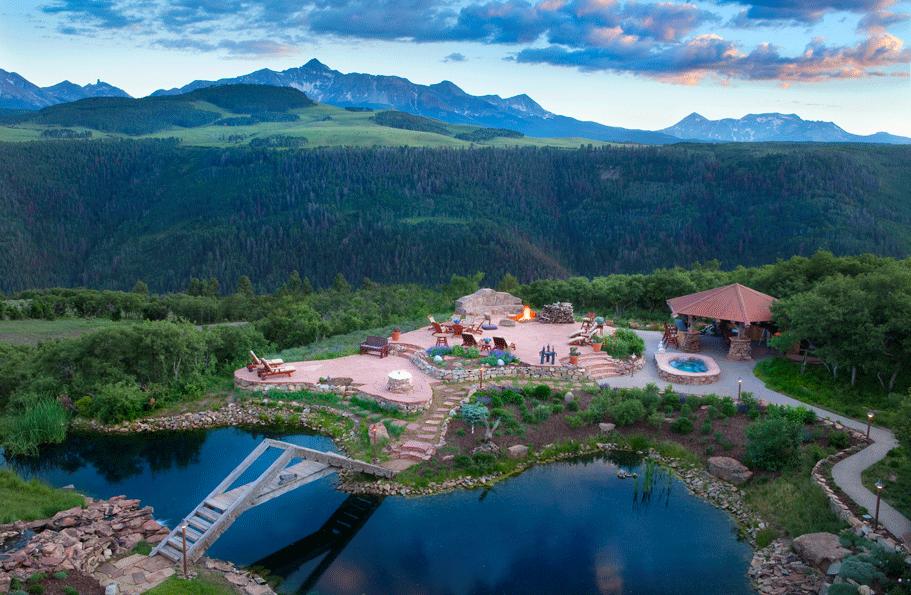 Catmando – A 35 Acre Estate In Telluride, CO