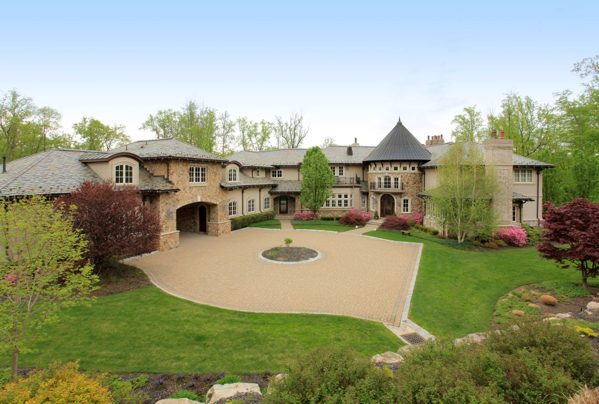 Newly Listed 15 000 Square Foot European Inspired Mansion