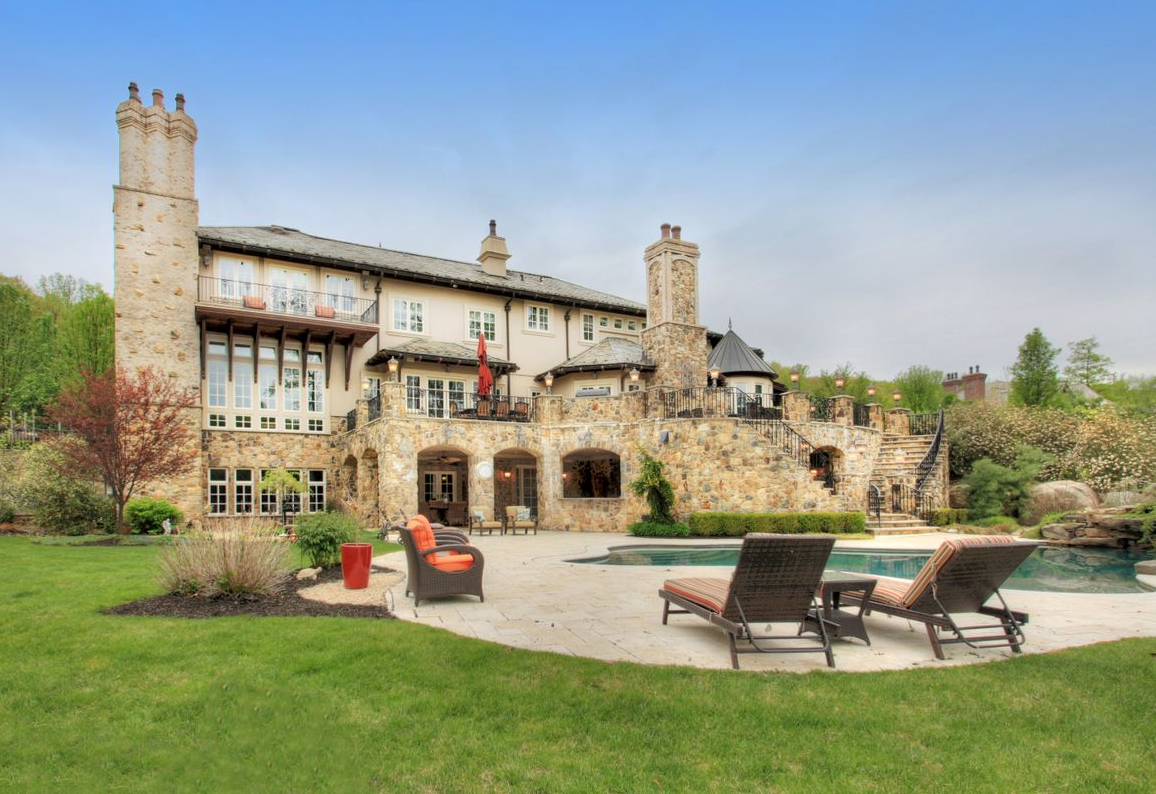 Newly Listed 15,000 Square Foot European Inspired Mansion In Montville, NJ