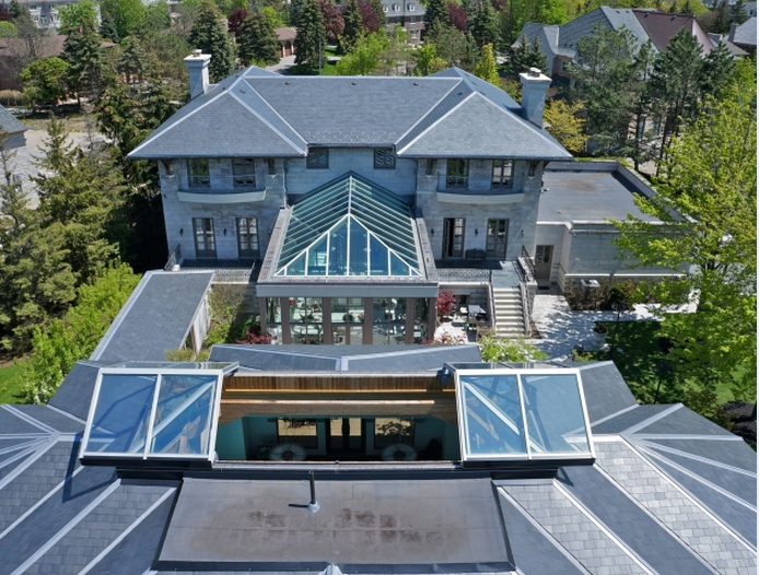 $7.8 Million Home In Ontario, Canada With Detached Indoor Pool