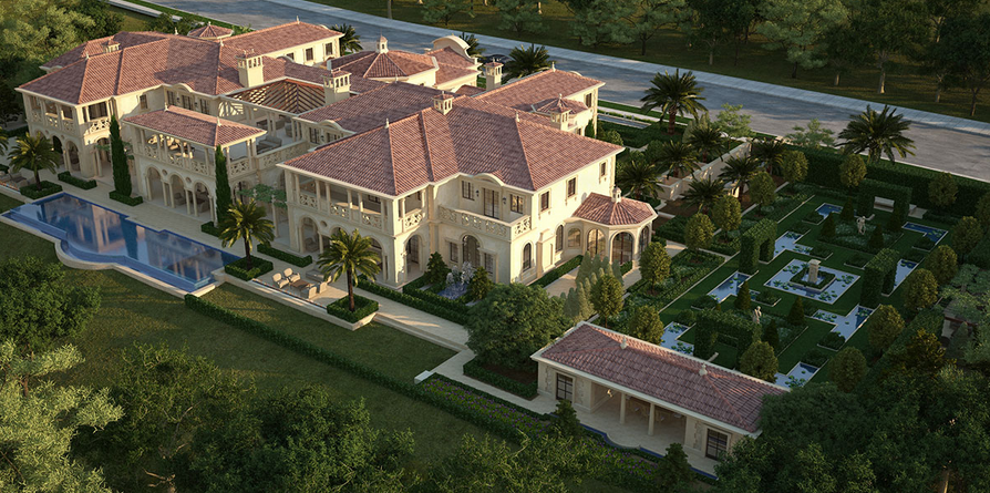 55 000 square foot mega mansion being built in newport for The world s biggest house