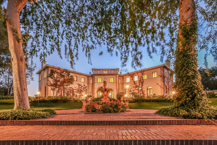 17 Million Italian Palladian Villa In San Marino Ca