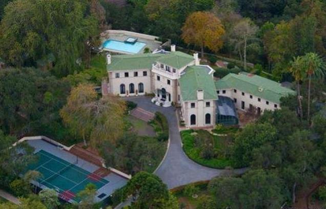 $17 Million Italian Palladian Villa In San Marino, CA