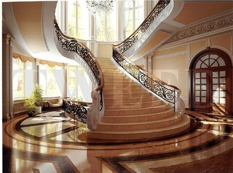 Luxury stairs gallery june 2014 for Luxury staircase