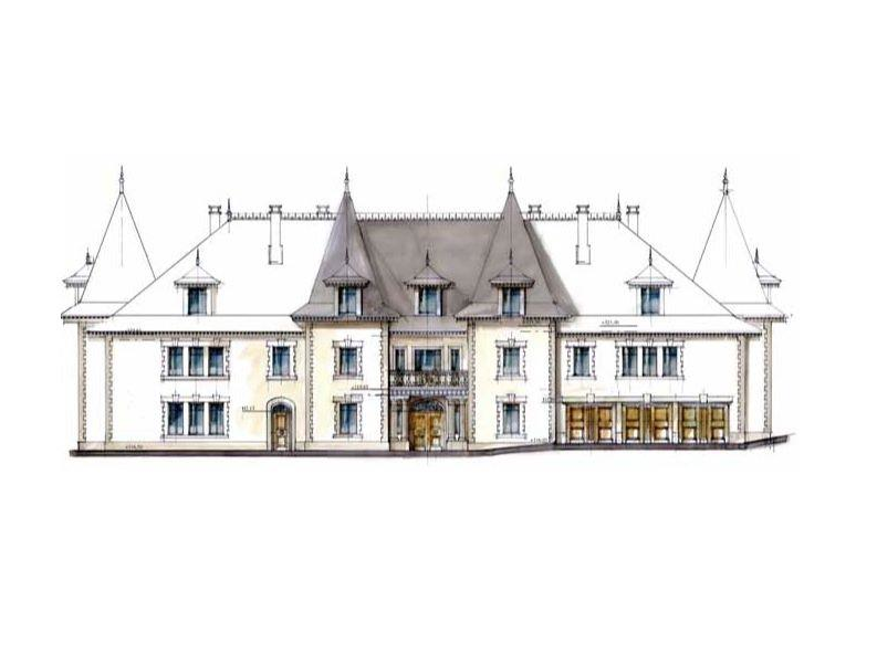 21,000 Square Foot Newly Built Chateau In France
