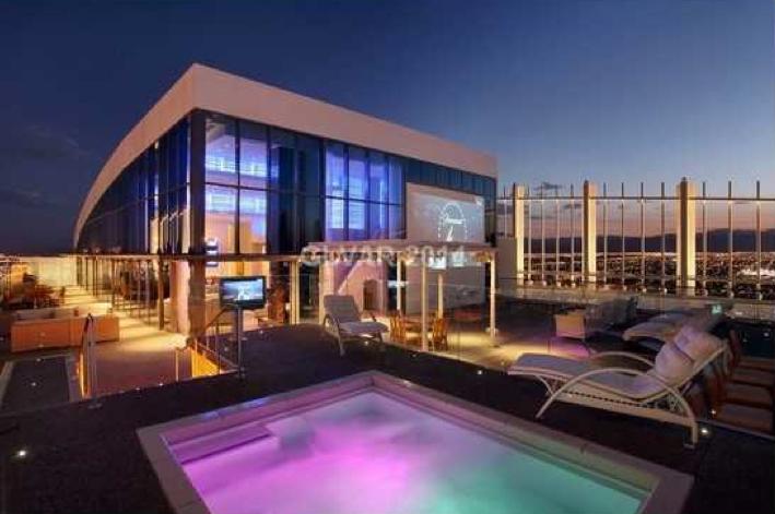 38 Million 27 000 Square Foot Mega Penthouse In Las Vegas