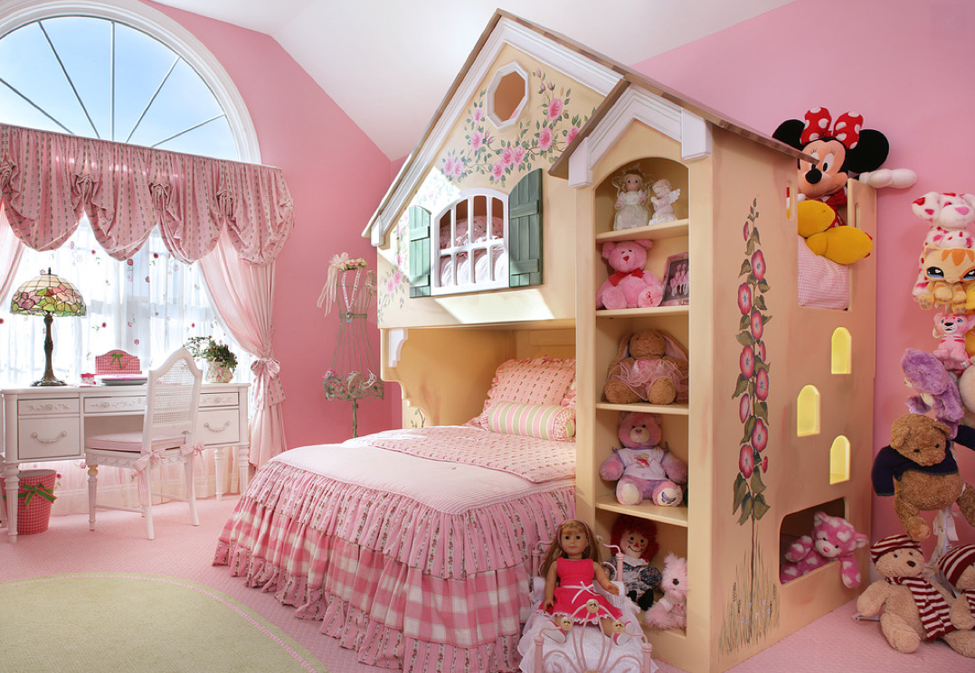 A Look At Some Beautiful Girls' Bedrooms | Homes of the Rich on Girls Beautiful Room  id=77469