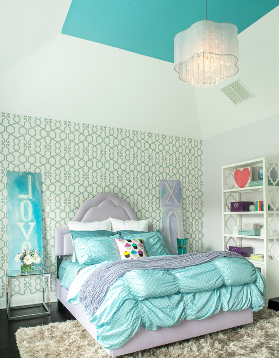 A Look At Some Beautiful Girls' Bedrooms