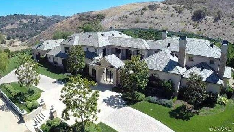 13 000 Square Foot French Inspired Mansion In Hidden Hills