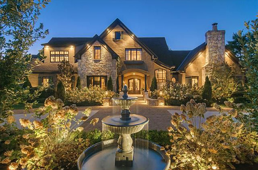 3 4 Million Renovated Mansion In Brentwood Tn Homes Of