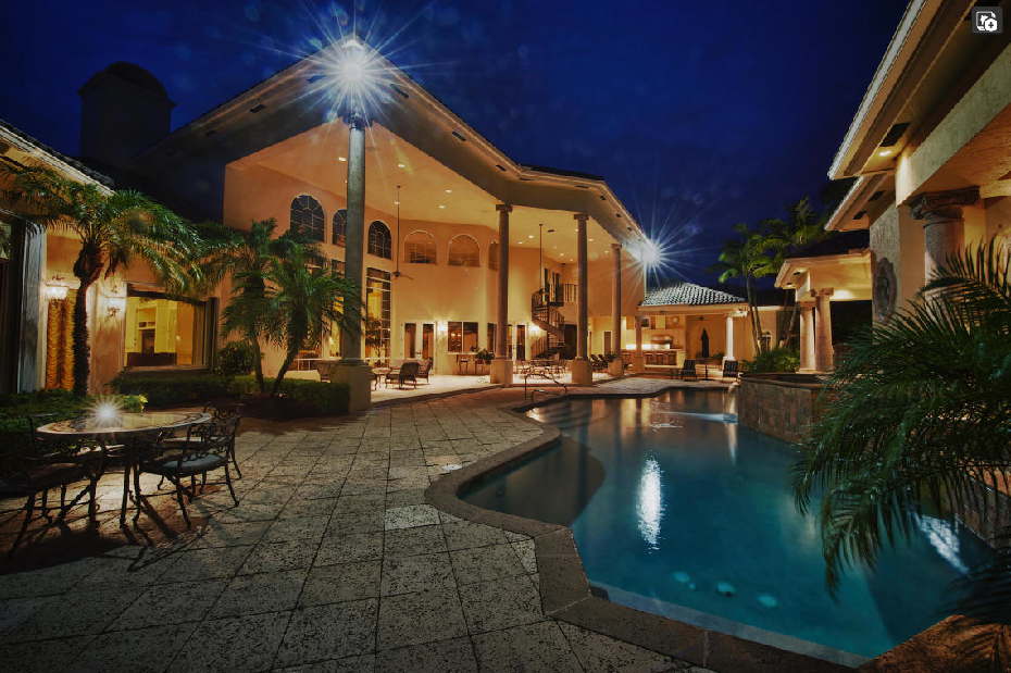 16,000 Square Foot Mediterranean Mansion In Delray Beach, FL
