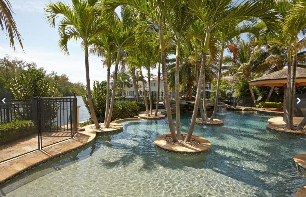 $13.5 Million Waterfront Mediterranean Mansion In Deerfield Beach, FL