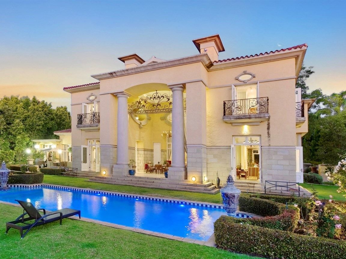 13 000 Square Foot Italian Inspired Mansion In Sandton