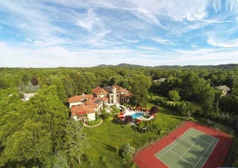 $15 Million 20,000 Square Foot Mediterranean Mansion In Franklin Lakes, NJ