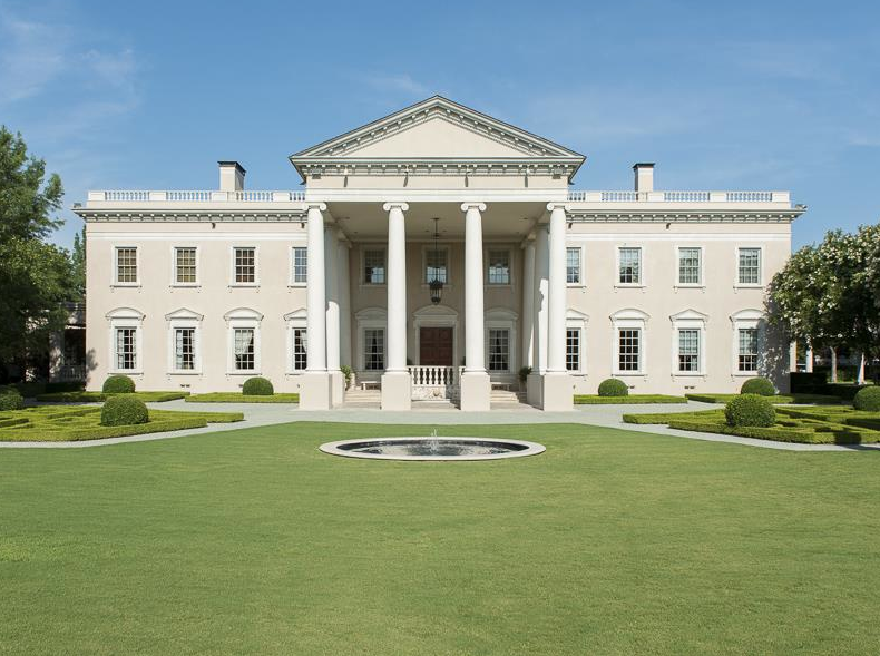 19 5 million white house replica in dallas tx homes of - 4 bedroom houses for sale in dallas tx ...