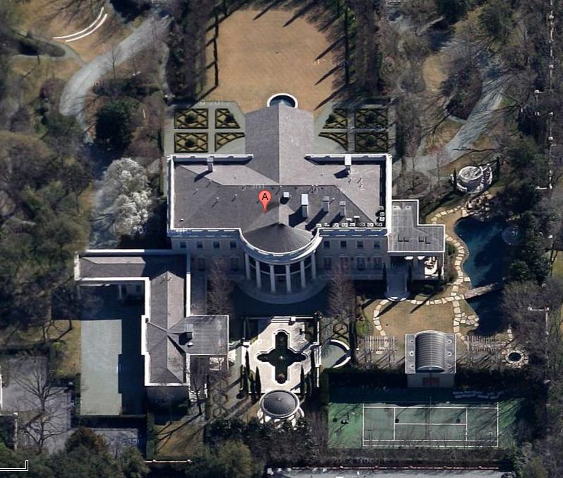 $19.5 Million White House Replica In Dallas, TX