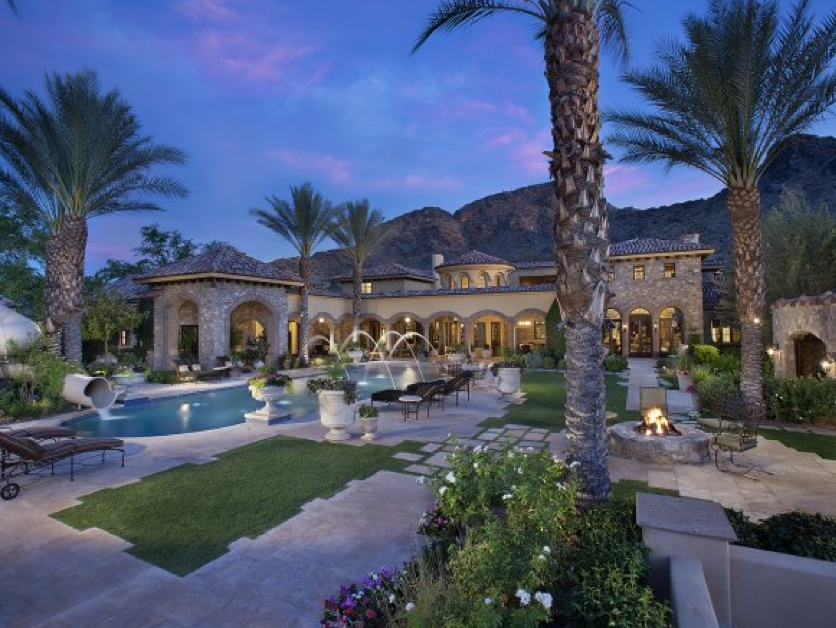 Baseball Legend Randy Johnson's 25,000 Square Foot Paradise Valley Estate