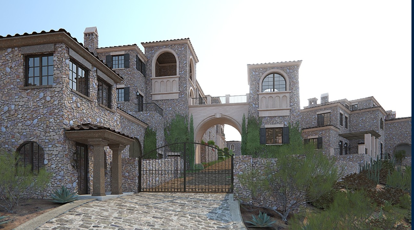 100 000 square foot proposed super estate in scottsdale