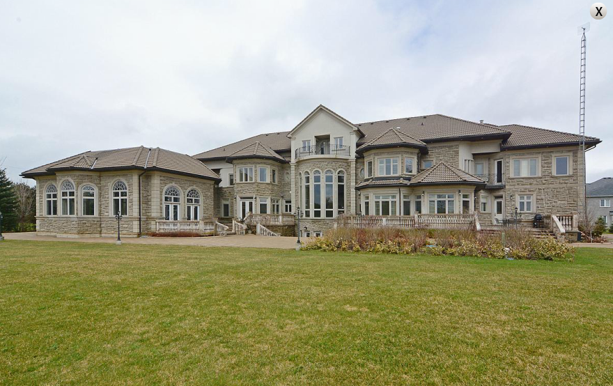 20,000 Square Foot Newly Built Mansion In Ontario, Canada