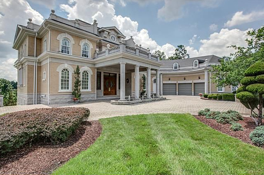 12 000 square foot neoclassical mansion in brentwood tn for Neoclassical house