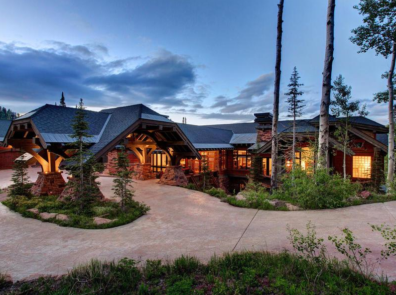 14500 Square Foot Mansion In Park City UT With Indoor Rock Climbing Wall