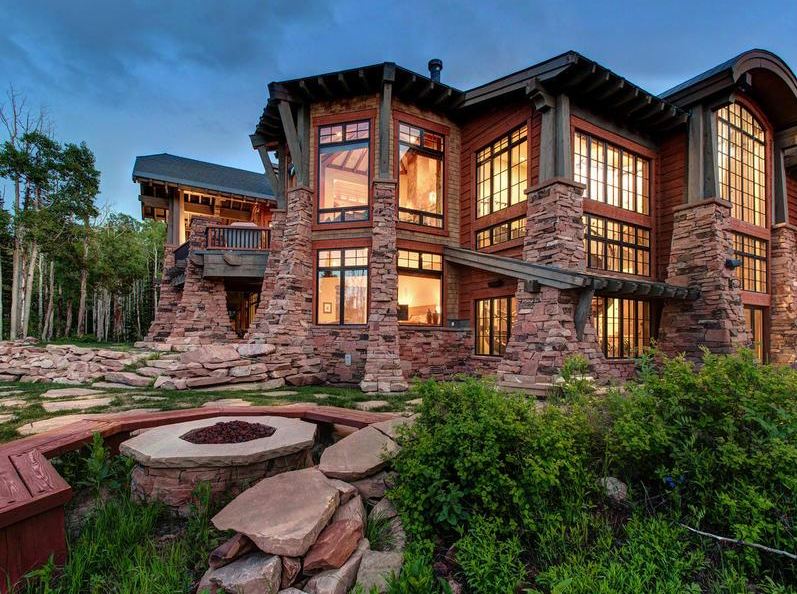 14,500 Square Foot Mansion In Park City, UT With Indoor Rock Climbing Wall