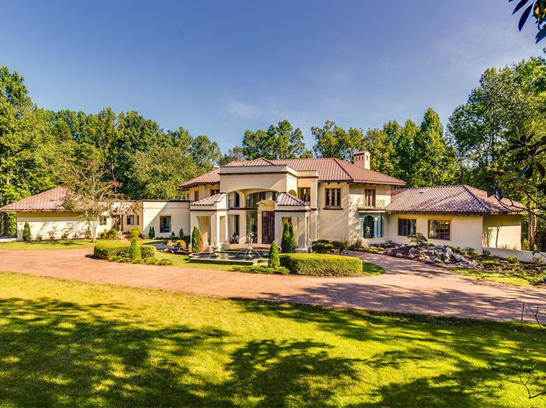 14 000 Square Foot Mansion In Charlotte Nc Homes Of The