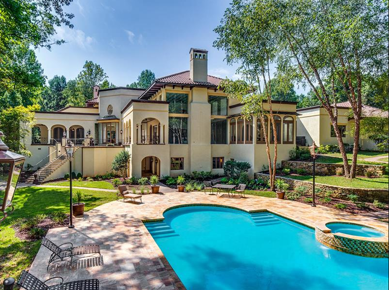 14 000 square foot mansion in charlotte nc homes of the for Charlotte house