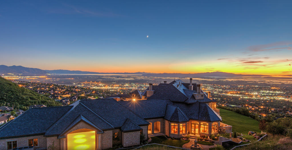Chateau Margot – A $9.5 Million 20,000 Square Foot Mansion In Bountiful, UT