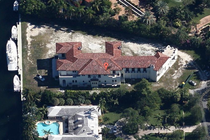 $17.9 Million Newly Built Waterfront Mansion In Coral Gables, FL