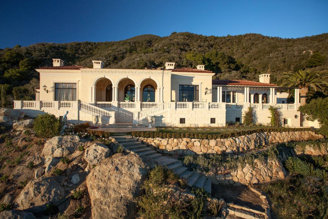 Exquisite Palladian Villa In Montecito, CA