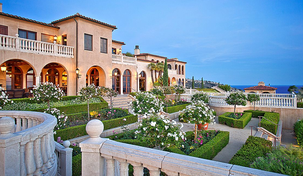 Villa dei sogni a 38 million italian inspired mansion for Most expensive homes in orange county