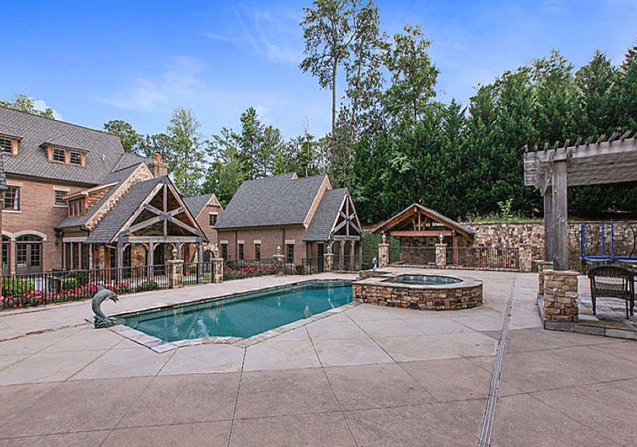 $5.9 Million English Manor House In Atlanta, GA