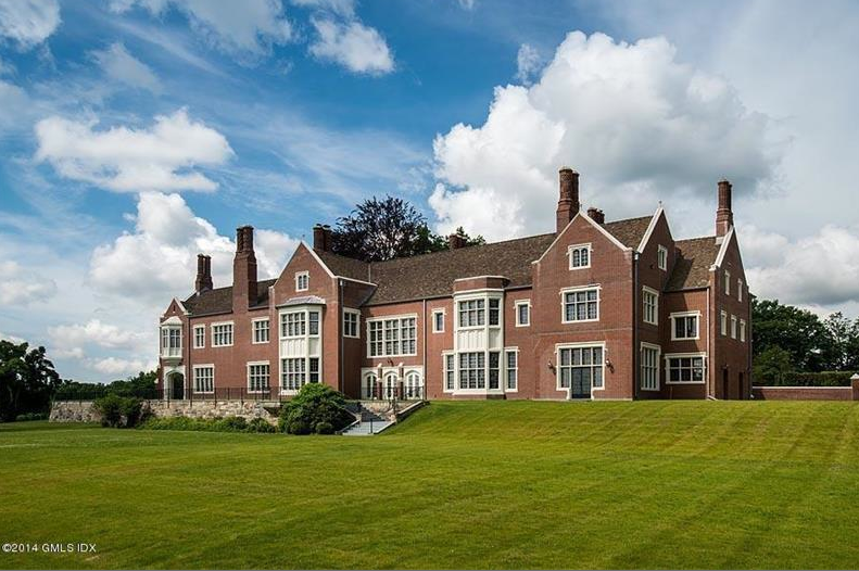 $65 Million Newly Listed Historic Mansion In Greenwich, CT