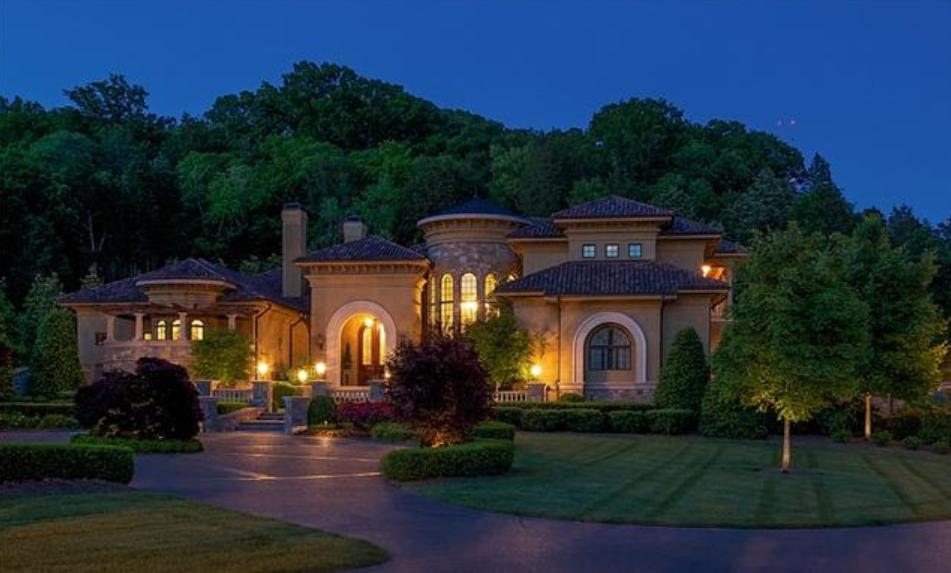 Million Mediterranean Mansion In Brentwood Tn