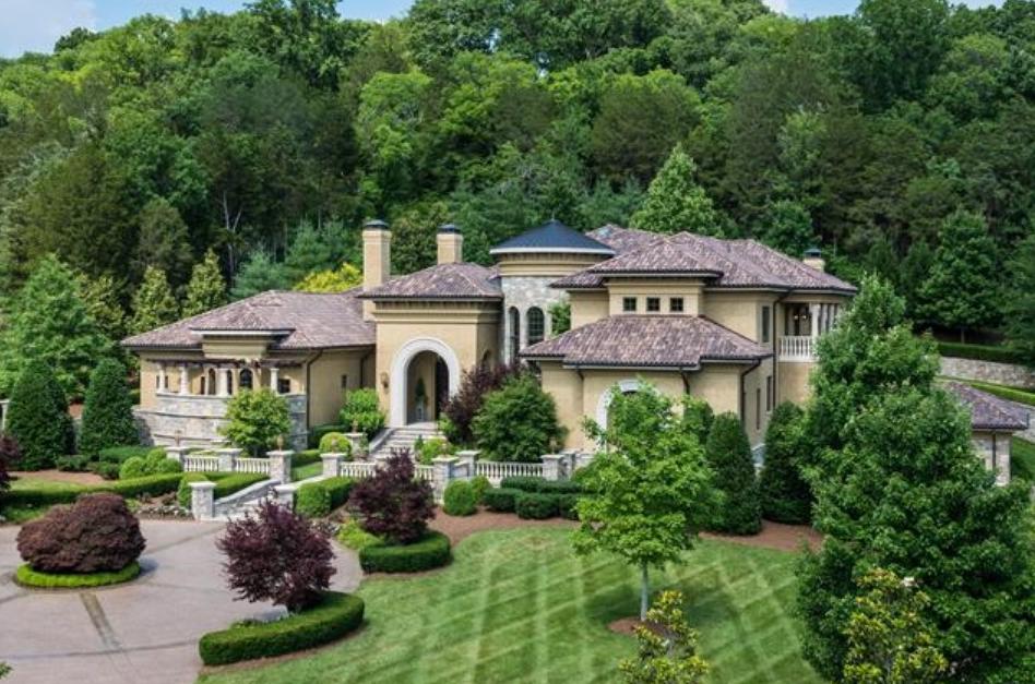 Million mediterranean mansion in brentwood tn for House plans nashville tn