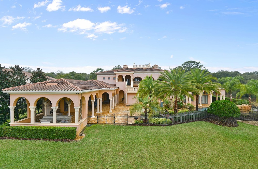 Chateau D'Usse – A $4.9 Million 11,000 Square Foot Mansion In Longwood, FL