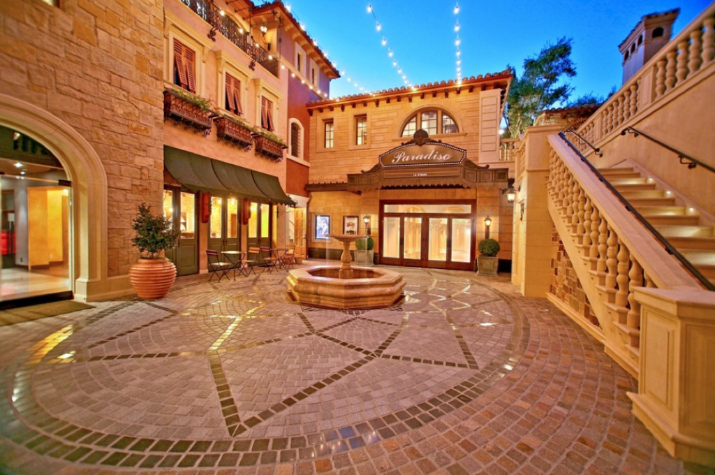 Mediterranean mansion in orange county with awesome for Mansions in orange county