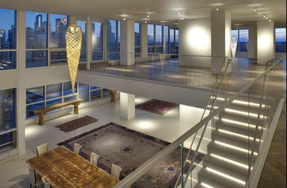8 Million 11 000 Square Foot 2 Story Penthouse In