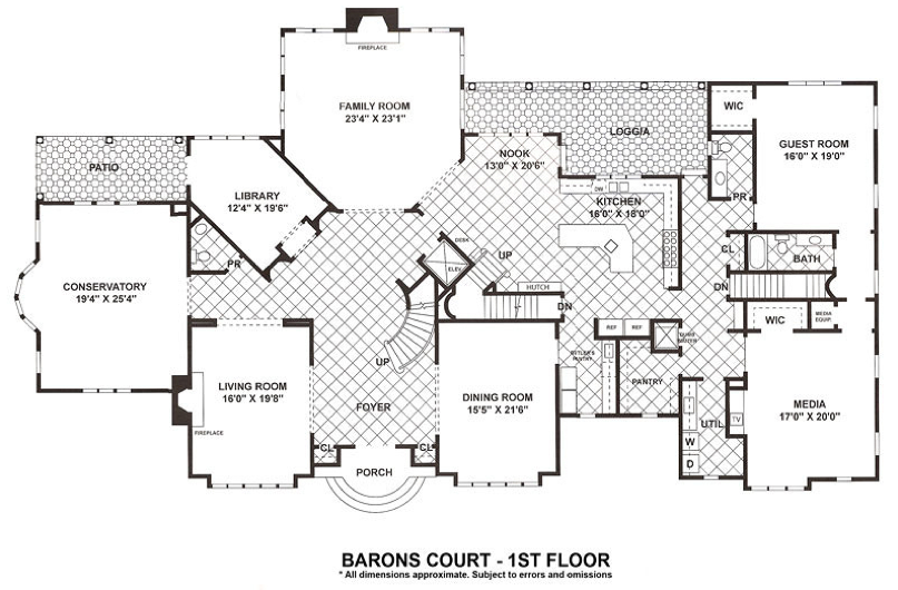 Million Dollar Floor Plans 28 Images Billion Dollar