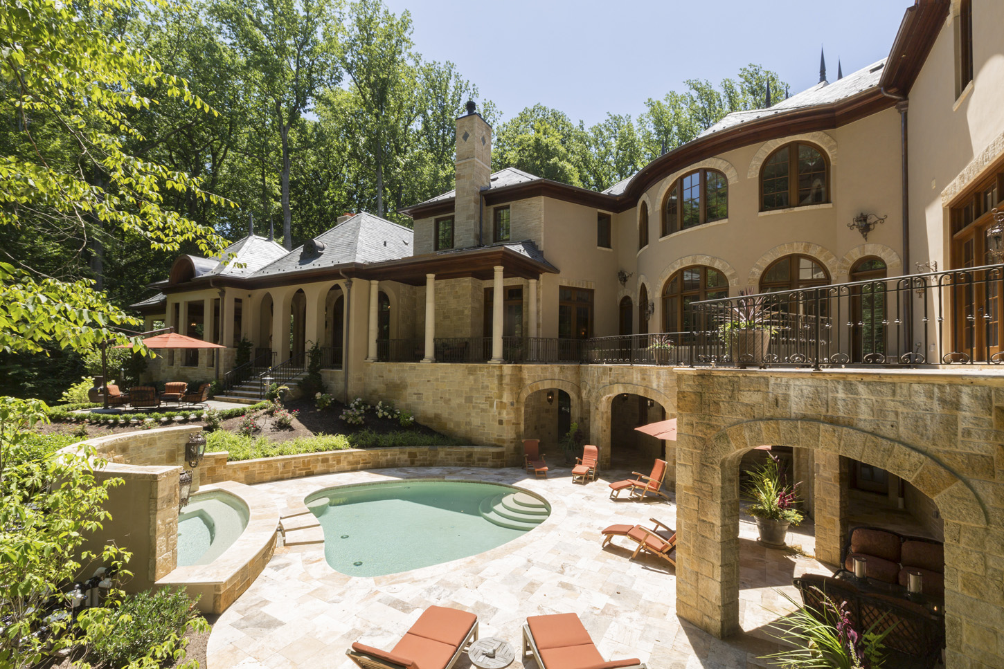 $12.9 Million 15,000 Square Foot Newly Built French Provincial Mansion In McLean, VA